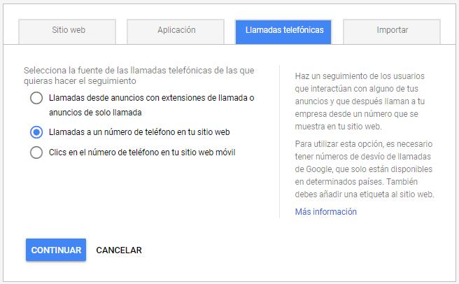 Configurar la conversión de llamada en Google Ads es muy sencillo