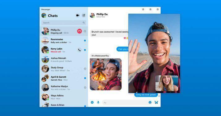 En el Facebook F8 también se ha presentado el nuevo rediseño del Messenger de la plataforma