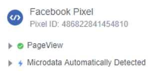 Con la extensión Facebook Pixel Helper podemos conocer dónde instala nuestra competencia sus pixels, y qué eventos tiene definidos, entre otras