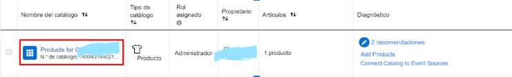 Si tu tienda tiene muchos productos, Facebook permite organizarlos en catálogos para dárselo más fácil al usuario