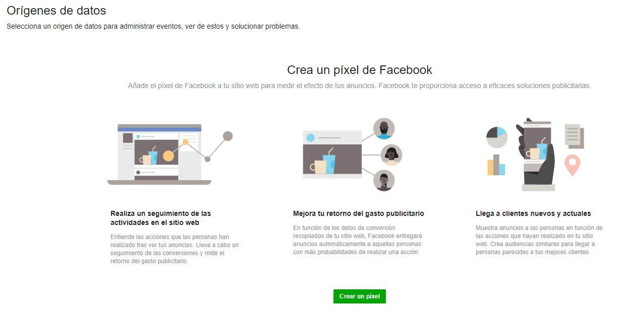 Cómo crear un Píxel de Facebook