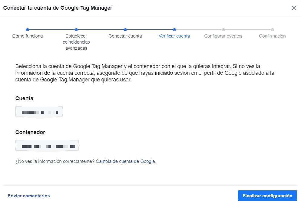 Instalar el píxel de facebook con GTM