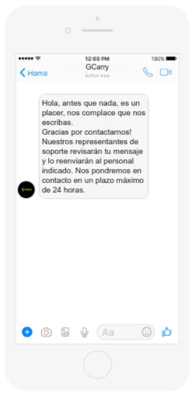 Otra opción para mantener un contacto contínuo con tus seguidores es configurar un bot que responda automáticamente con un mensaje personalizado