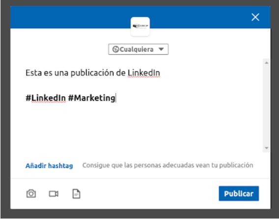Los hashtags ya pueden ser usados en LinkedIn sin miedo. De hecho, la plataforma premia su uso con un mayor engagement en las publicaciones que los contienen