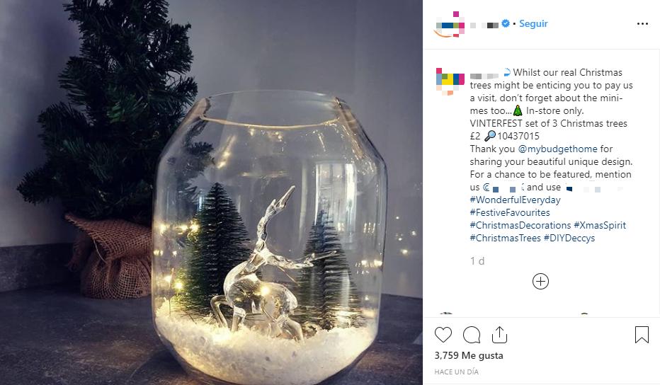 Una buena creatividad es fundamental para nuestras publicaciones navideñas en Redes Sociales