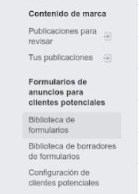 Crear un formulario de clientes potenciales en Facebook es muy sencillo
