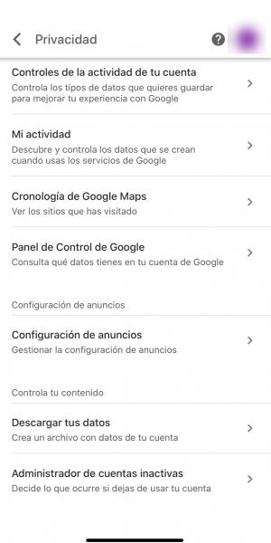 Ver nuestro perfil para google y modificarlo: paso 2. configuración de anuncios