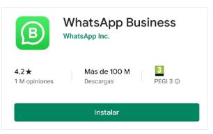 Configurar Whatsapp Business para tu negocio es muy simple. Todo comienza con la descarga de la aplicación