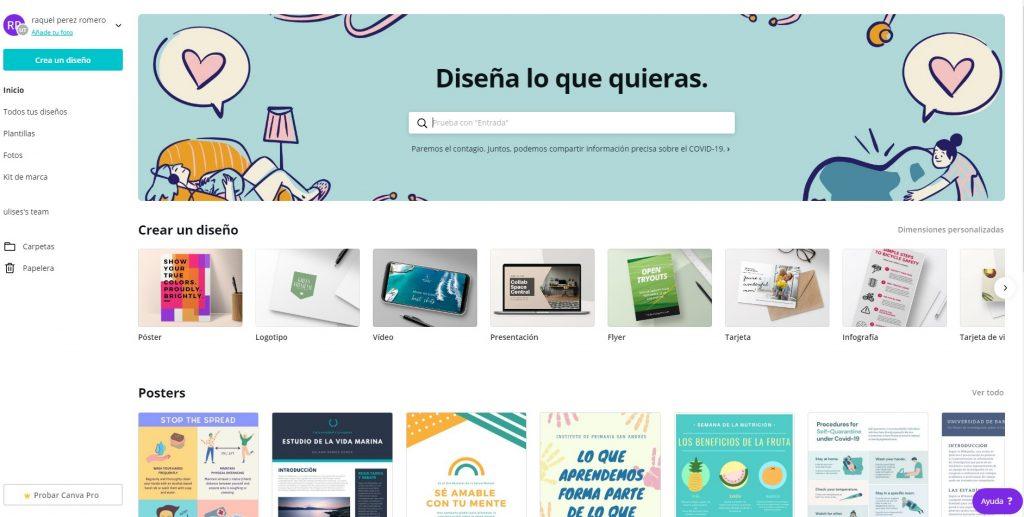 Diseña tus banners y creatividades con Canva