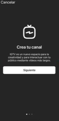 Descargar App IGTV