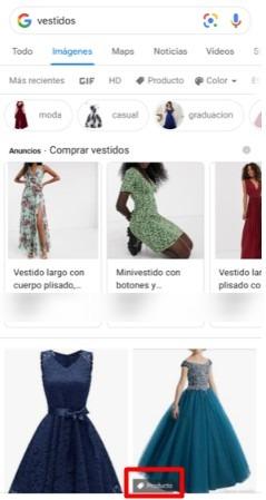 Google Shopping Orgánico